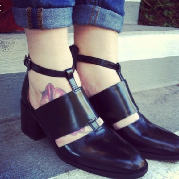 5a89562336b Jeffrey Campbell Shoes - Jeffrey Campbell Melina cutout bootie sandal chic